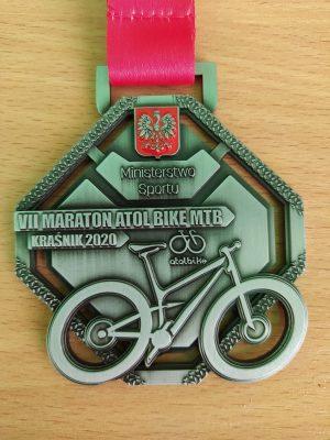 medal VII Ogólnopolski Maraton MTB
