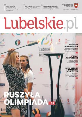 Okładka drugiego numeru magazynu Lubelskie.pl